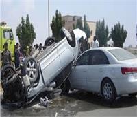 مصرع وإصابة 5 أشخاص في حادثي تصادم بالشرقية