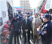 محافظ سوهاج ومدير الأمن يشهدان فعاليات الاحتفال باليوم العالمي للحماية المدنية