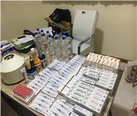 ضبط 477 عبوة دوائية منتهية الصلاحية بالشرقية