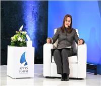 وزيرة التخطيط : مصر استثمرت ١.٥ تريليون جنيه لتطوير البنية التحتية