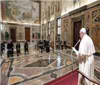 البابا فرنسيس يستقبل وفدًا من مركز التضامن الفرنسيسكاني بفلورنسا