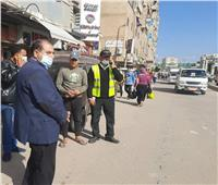 رئيس مدينة كفر الدوار يقود حملة لمنع سير «التوك توك» بالشوارع
