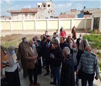 «وكيل صحة الغربية» يتفقد عدداً من المستشفيات المتوقفة بمدينة المحلة