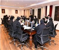 فعاليات الفترة المسائية لاجتماعات المجمع المقدس
