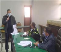 المنيا: تنسيق شامل  لتشغيل محطة صرف حي غرب «ضمن مبادرة حياة كريمة»
