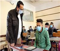 وكيل تعليم الغربية يطمئن الطلاب بإمكانية التعامل مع أي مشكلة داخل المدارس