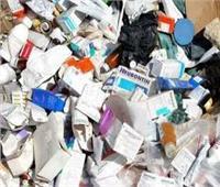ضبط 21 ألف قطعة مستلزمات طبية مجهولة المصدر بالغربية