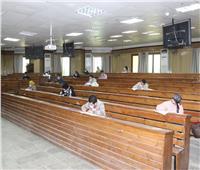 نائب رئيس جامعة طنطا يتابع امتحانات الدراسات العليا بكلية الهندسة