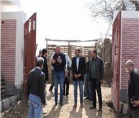 مستشاررئيس الوزراء يتابع مشروعات«حياة كريمة» بقرى الشهداء
