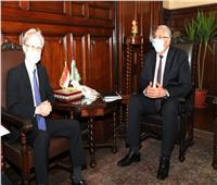 وزير الزراعة والسفير الياباني يبحثان تنمية الصادرات والاستزراع السمكي