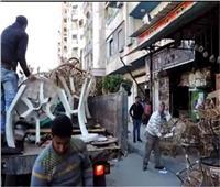 «شرطة المرافق» تحرر 745محضر «إشغال طريق» بالجيزة