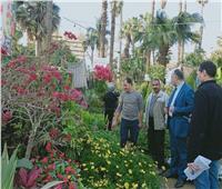 «الزراعة» تتابعأخر الاستعدادات لافتتاح معرض زهور الربيع الـ 88| صور