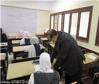 وكيل تعليم مطروح يتفقد امتحان الصف الأول الإعدادي بمدارس المدينة