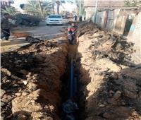 12 مليون جنيه لإحلال وتجديد شبكات مياه الشرب بمركز ساقلتة بسوهاج