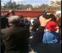 10 صور من جنازةوالدة الإعلامية رضوى الشربيني