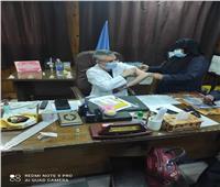 استمرار تلقي الفرق الطبية «لقاح كورونا» في دمياط