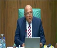 وزير الخارجية: ندعم المفاوضات «الليبية» للتوصل إلى حل سياسي| فيديو