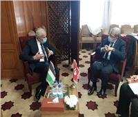 المالكي يبحث مع نظيريه التونسي واللبناني آخر المستجدات في فلسطين