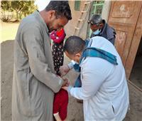 تطعيم 96% من المستهدف خلال الحملة القومية ضد شلل الأطفال بمراكز المنيا