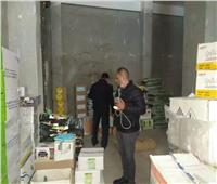ضبط 81 طن  أسمدة ومبيدات مجهولة المصدر بالإسماعيلية