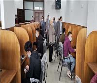 إجراء أول اختبار إلكتروني لطلاب «الحاسبات» بجامعة بنها