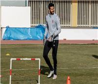 محمد الشناوي ينتظم في التدريبات الجماعية