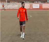 مران الأهلي| «الشحات» يغادر التدريبات الجماعية للإصابة