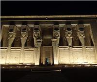 صور |« دندرة» بقنا استغرق بناؤه 200 سنة..لعبادة إله الحب
