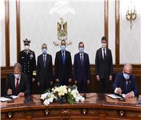 «مدبولي» يوقع اتفاقية مع «ديمي» البلجيكية لدراسة إنتاج «الهيدروجين الأخضر»