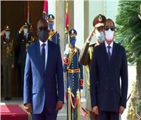 السيسي يستقبل رئيس غينيا بيساو في قصر الاتحادية| فيديو