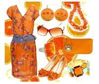لماذا تعشق النساء اللون البرتقالي؟