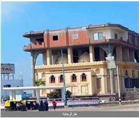 الأوقاف: فتح تحقيق في واقعة عقار الرحمانية وتشكيل لجنة فنية لمعاينة المبنى