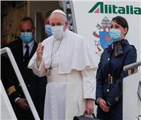 بابا الفاتيكان يغادر روما متجها إلى العراق لبدء زيارته   صور