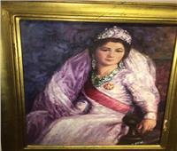 الملكة فريدة.. تتعلم الرسم لتوفر قوت يومها