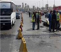 تحويلات مرورية لتنفيذ أعمال محطة مياة بمدينة نصر