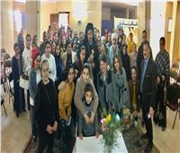 كنيسة سيدة البشارة بالمهاجرين تستقبل الأنبا باخوم