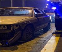 إصابة شخصين بينهما طفل نتيجة تناثر شظايا اعتراض طائرة مفخخة على السعودية