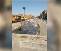 رئيس مدينة الحوامدية: مشهد القمامة في ترعة سقارة لا يتعدى 30 متراً
