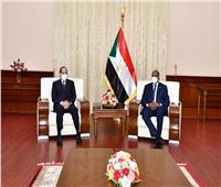 نص كلمة الرئيس السيسي في المؤتمر الصحفي مع رئيس مجلس السيادة السوداني