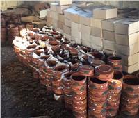 قرية «الفرستق» تقضي على البطالة بصناعة الفخار وتصدره للخارج