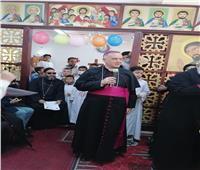 لليوم الثالث.. السفير الباباوي يزور ايبارشية أبو قرقاص