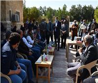 محافظ الفيوم: تغطية قرية تونس بخدمة «الواي فاي» المجانية | صور
