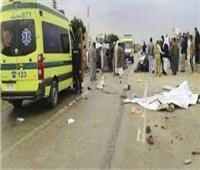 مصرع وإصابة 3 أشخاص في حادث سير بالمنيا