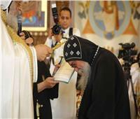 البابا تواضروس يقدم الأنبا مكاريوس أسقف إيبارشية المنيا الجديد