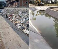 الري: إلقاء القمامة على الترع المبطنة جريمة قد تتحول لكارثة