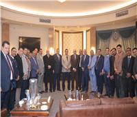 محافظ البحيرة يلتقى أعضاء مجلس نقابة المحامين