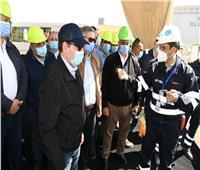 وزير البترول يتفقد توسعات مصفاة «ميدور» في الإسكندرية