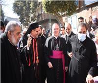 اليوم الثالث من زيارة السفير الباباوي بمصر لإيبارشية أبو قرقاص