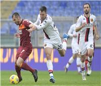 «مانشيني» يقود روما للفوز على جنوى في «الكالتشيو الإيطالي»