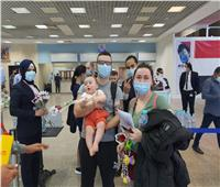 مطار شرم الشيخ يستقبل أولى رحلات «Avion Express» من ليتوانيا.. صور